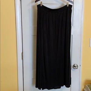 Eileen Fisher Cotton Maxi-Skirt